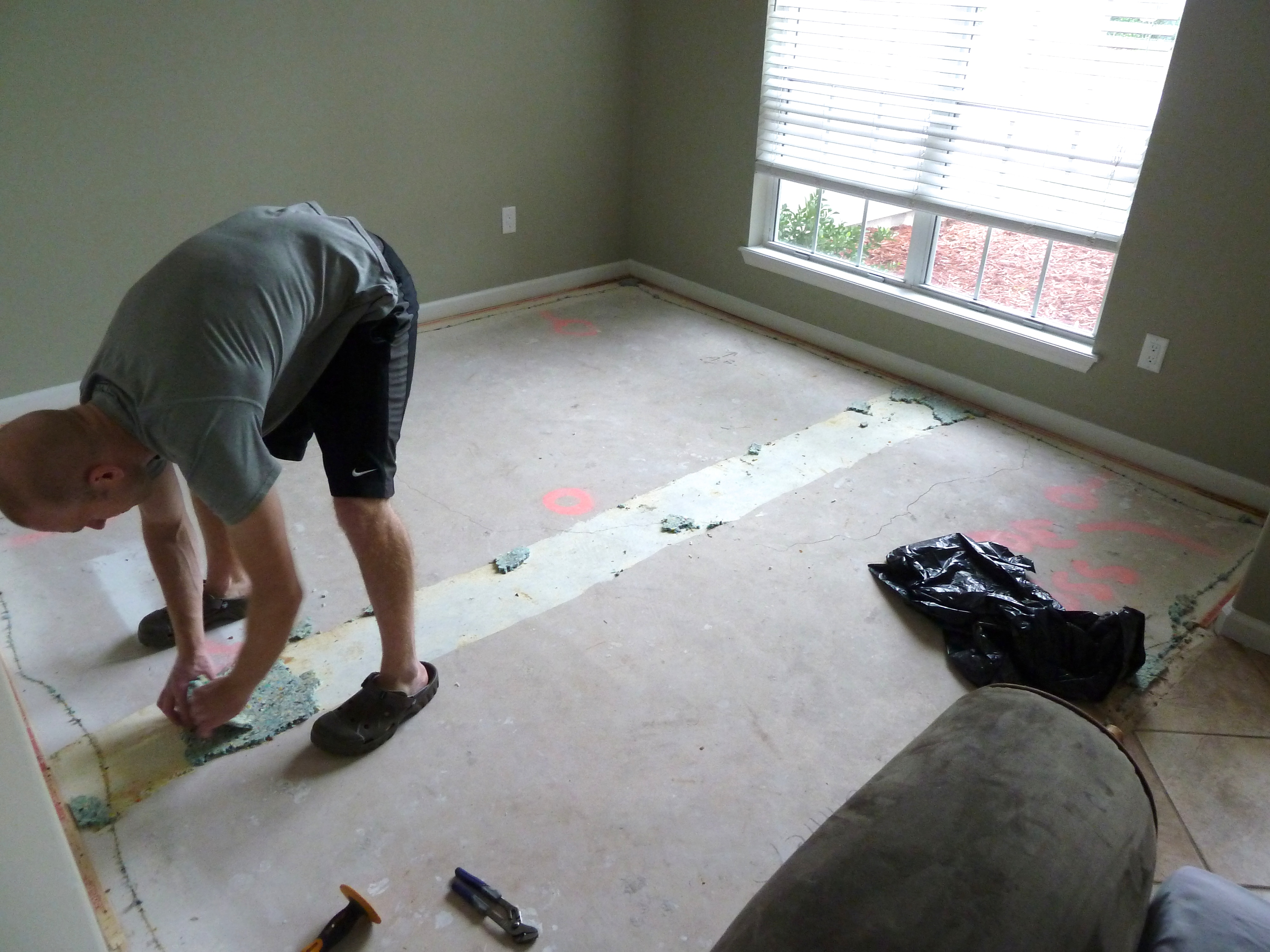 Installing Carpet The Mace Place