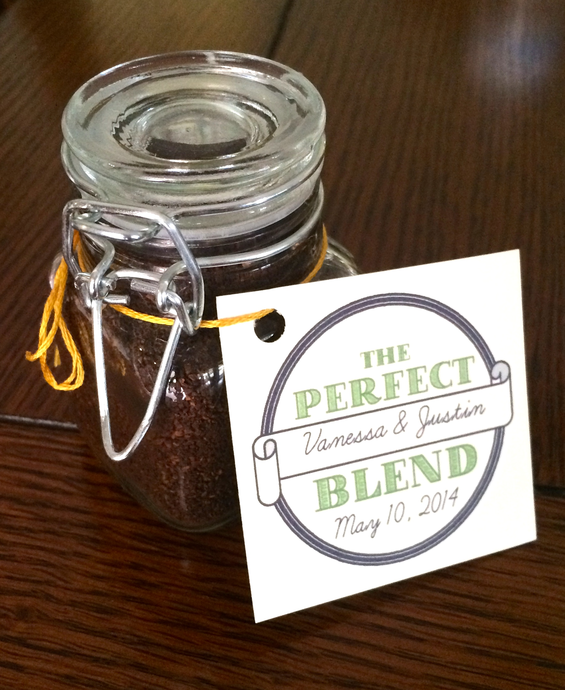 Diy Coffee Wedding Favor The Mace Place