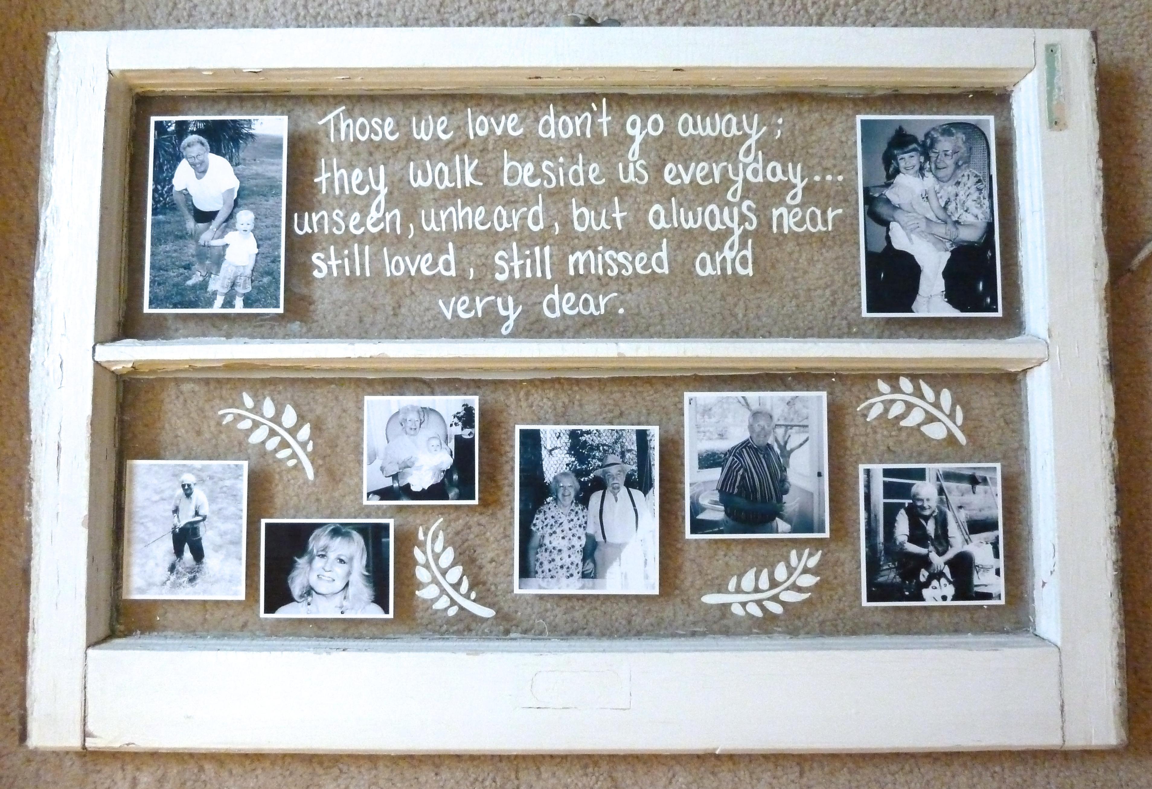 Wedding Memorial Display | The Mace Place