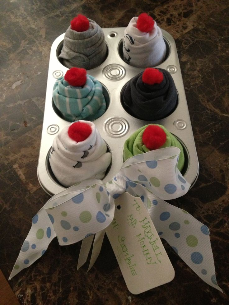 Diy Baby Shower Cupcake Gift The Mace Place