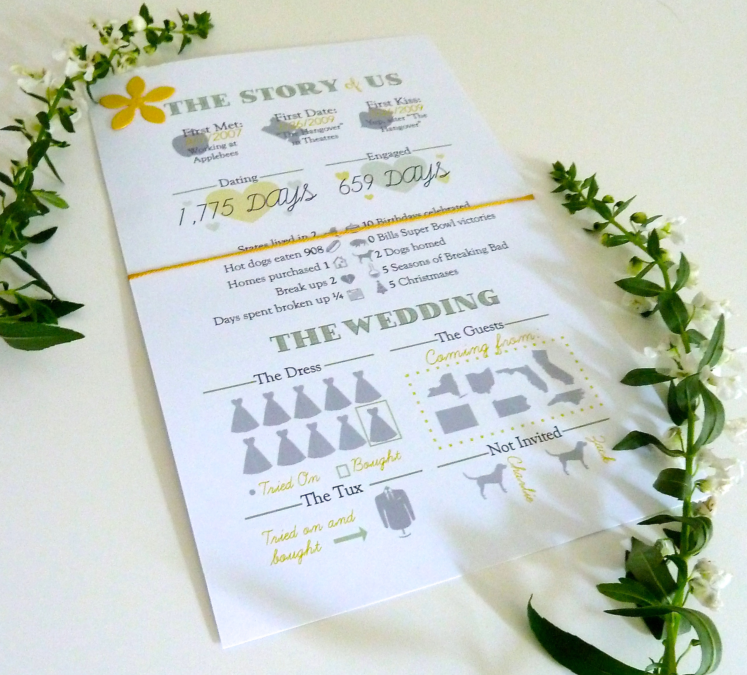 diy info graphic wedding programs the mace place